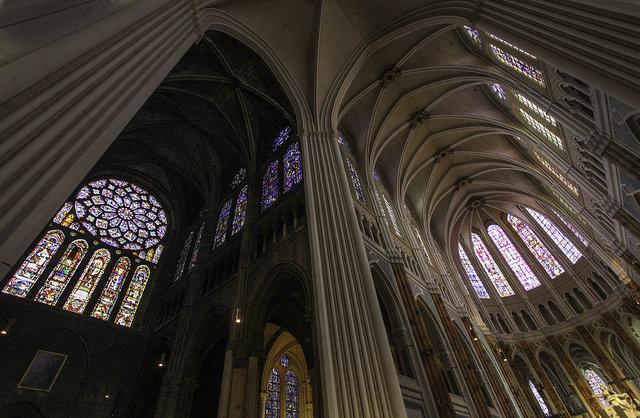 Catedrala din Chartres, interior