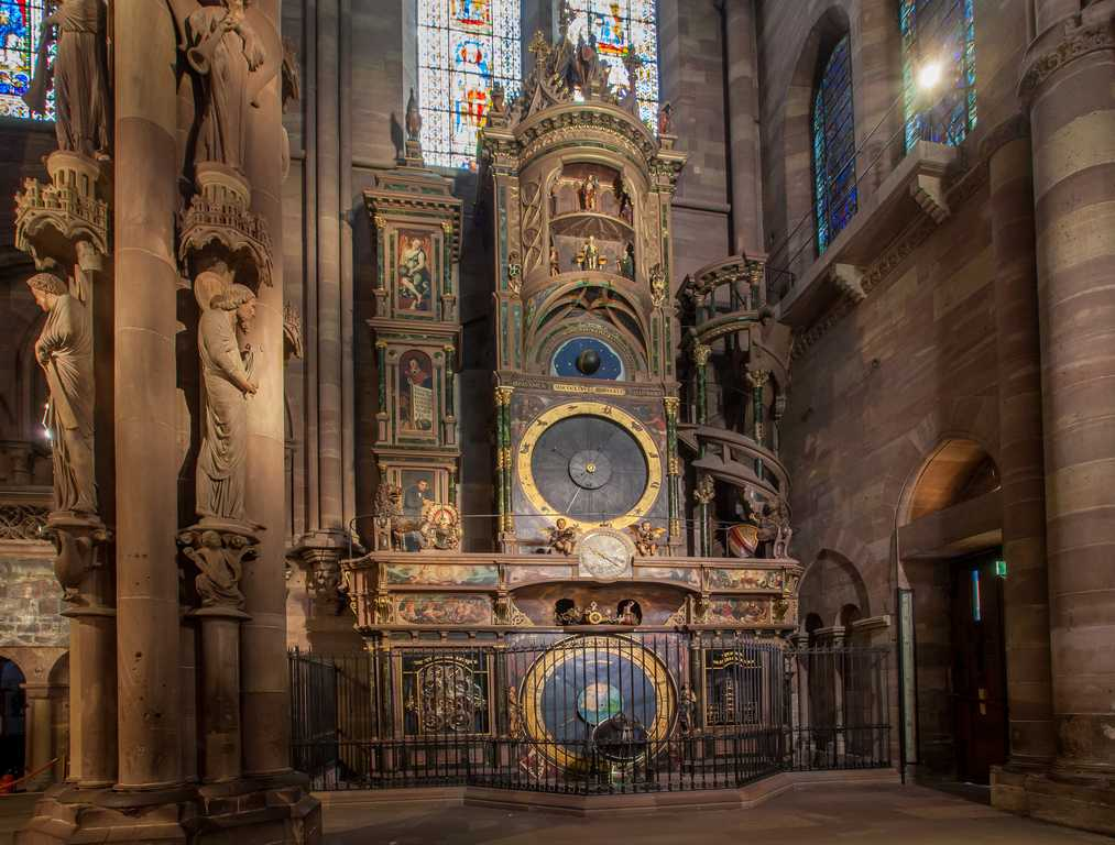 Ceasul astronomic, catedrala din Strasbourg