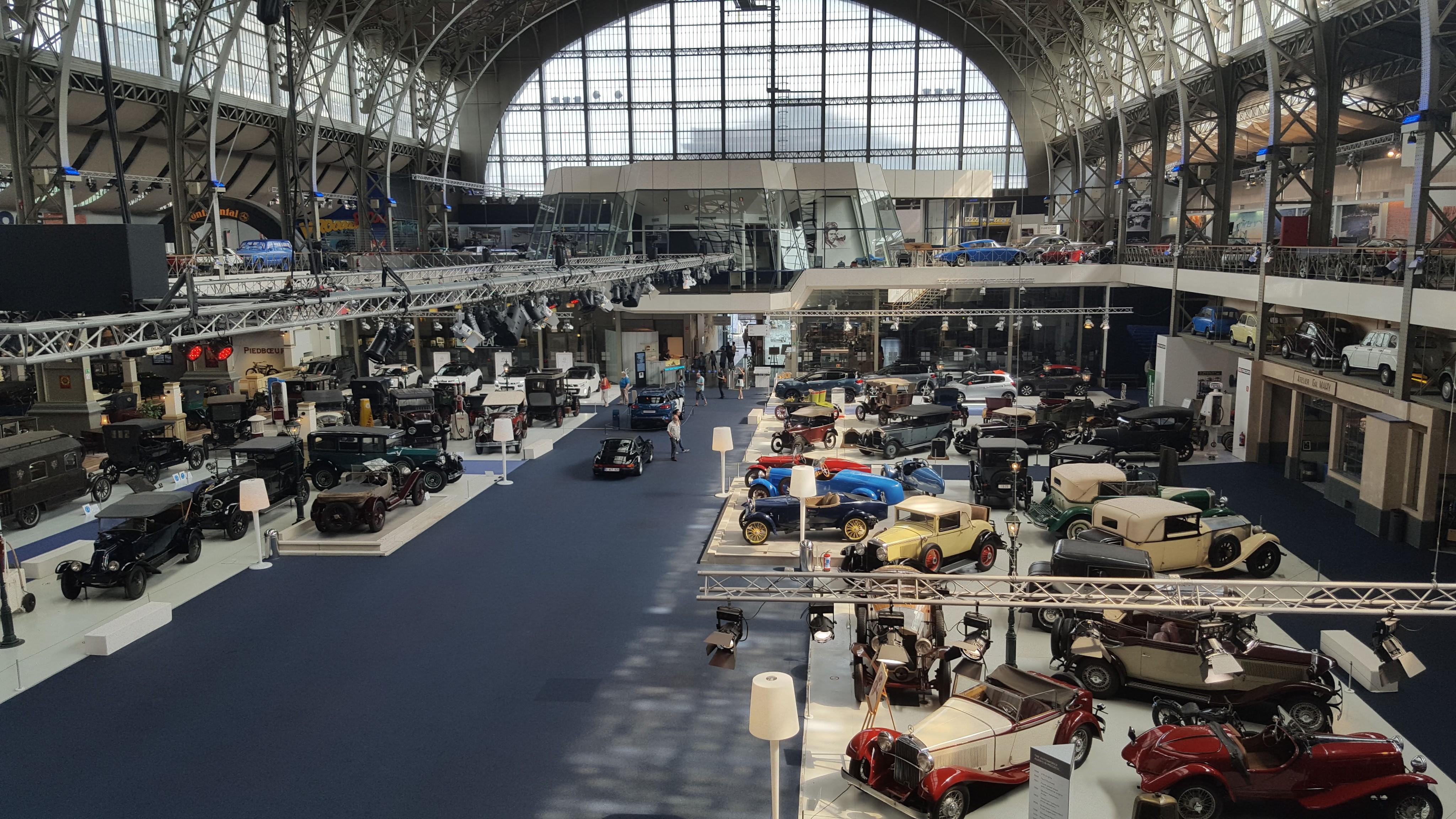 Muzeul automobilelor Autoworld, Bruxelles