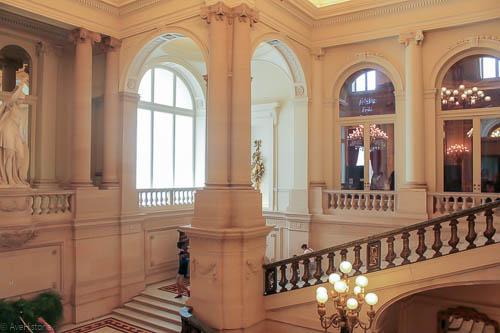 Palatul regal Bruxelles, marea scara de onoare