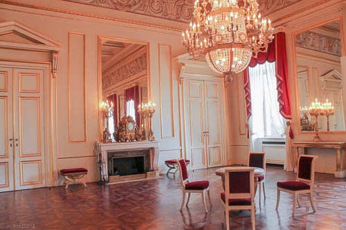 Palatul Regal Bruxelles, La Grande Antichambre