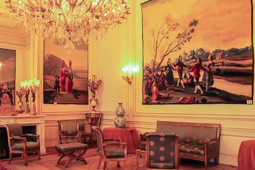 Palatul regal Bruxelles, salonul Goya