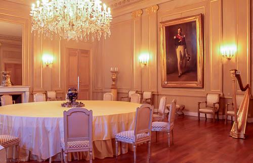 Palatul regal Bruxelles, salonul bleu