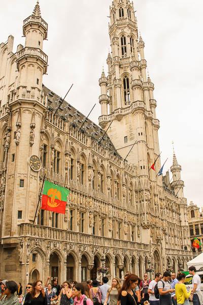 Hotel de ville, Bruxelles